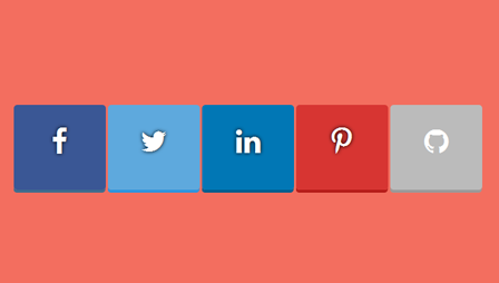 flat-beauty-social-button-with-css3-transition
